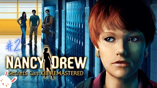 Nancy Drew 1: Secrets Can Kill (REMASTERED) [Playthrough] #2 - CHEATING AND FAKE UNCLE MISSING!