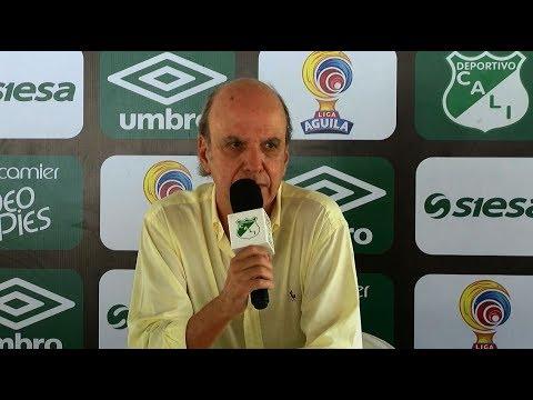 Presidente del Deportivo Cali pidió excusas a la hinchada por mala campaña en la Liga II