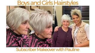 Hairstyles Over 70 - Cute Short Pixie Haircut