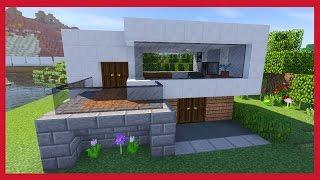 Minecraft come costruire una casa survival for Case belle su minecraft