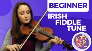Irish Fiddle Lesson - [The Basics] Maggie In The Woods 🎵🎵
