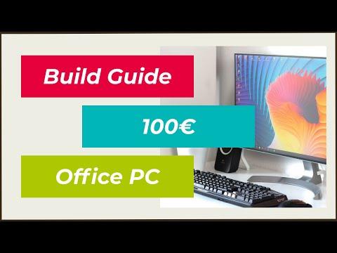 Günstiger 100€ Multimedia/Office-PC zum selber zusammenstellen/bauen   Deutsch   2016