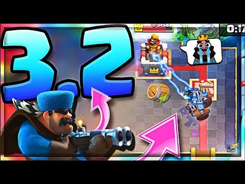 This *NEW* Hunter DECK is Awesome! (Molt Clash Royale)