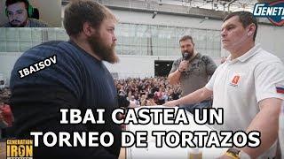IBAI CASTEA UN TORNEO DE TORTAZOS