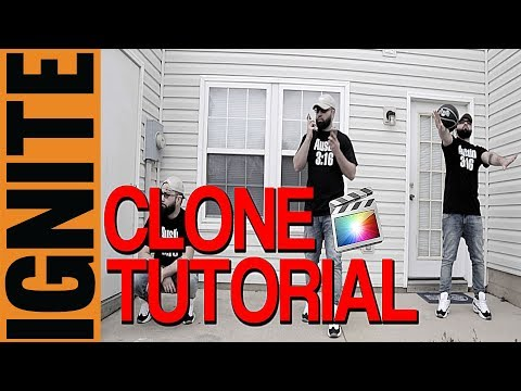 How To: Final Cut Pro Tutorial For Beginners (Clone Effect)