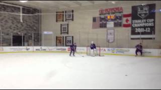 Kings Practice - Slapshots! Defense Drills (2/22/13)