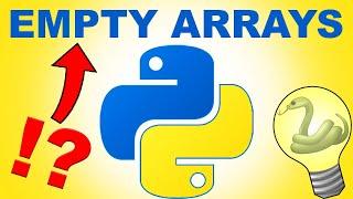 Python Numpy Empty Array