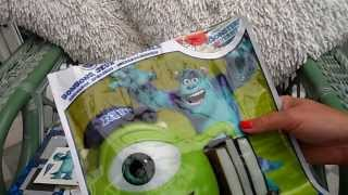 preview picture of video 'MONSTERS UNIVERSITY SURPRISE TOY BAG OPENING IN UK'