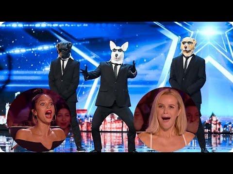 The BEST FUNNY Auditions Britan's Got Talent 2017 Week 1 (видео)