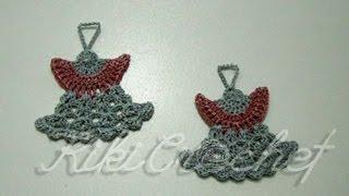 Crochet Christmas Ornaments: Guardian Angel