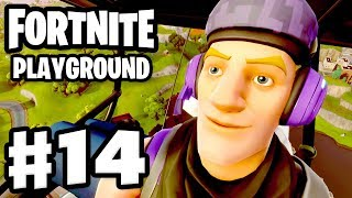 Playground Highlights And Funny Moments!   Fortnite   Gameplay Part 14