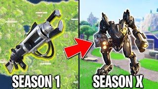 BROKEN Items From Every Fortnite Season.. (VAULTED)