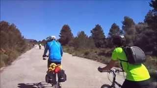 preview picture of video 'BiciRuta Siete Aguas - Lliria, 25-05-2013.'