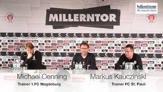 FCM nach Spiel gegen St. Pauli