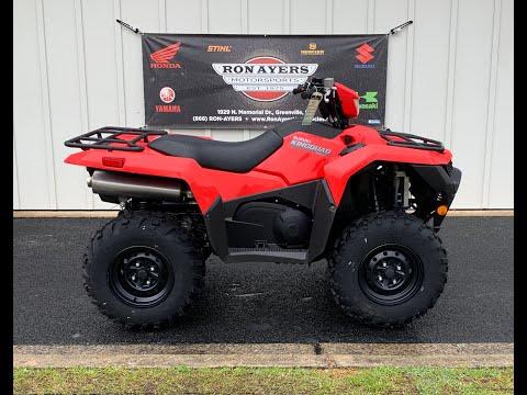2019 Suzuki KingQuad 750AXi in Greenville, North Carolina - Video 1