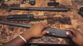 Mossberg 500 Pistol Grip Shotgun Disassembly & Reassembly   Lead 2 Rights