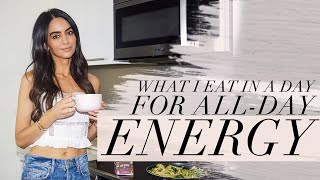 What I Eat In A Day For All-Day Energy  | Dr Mona Vand