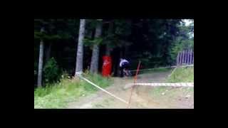 preview picture of video 'DOWNHILL MISTRZOSTWA POLSKI ZAWOJA MOSORNY GROŃ 22.07.2012'