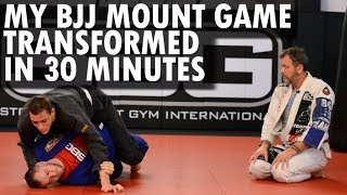 Matt Thornton Entirely Transforms my BJJ Mount Game in 30 Minutes