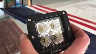 Van's RV-7A: Installing LED Landing Lights
