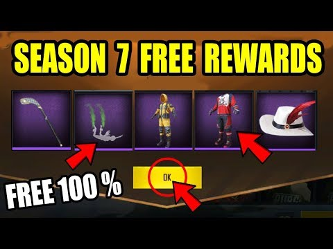 Pubg mobile Season 7 free rewards ! NO Vpn Trick , Limited Time Offer New Tips and Trick !