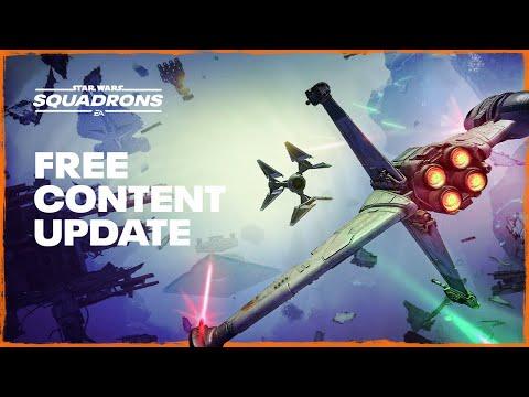 Trailer de la mise à jour 4.0 de Star Wars: Squadrons