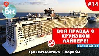 Вся правда о круизном лайнере! ТрансАтлантика + Карибы | Большой  Круг №14