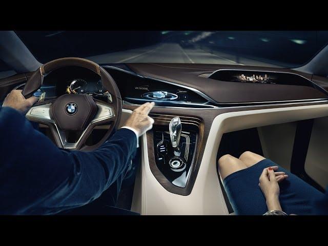 ► BMW Vision Future Luxury INTERIOR