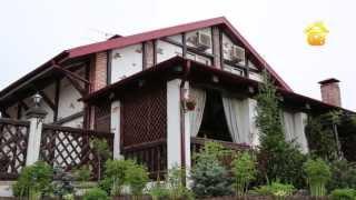 Смотреть онлайн Проект отделки дома в баварском стиле