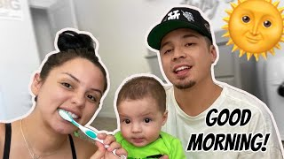 OUR MORNING ROUTINE WITH BABY G!