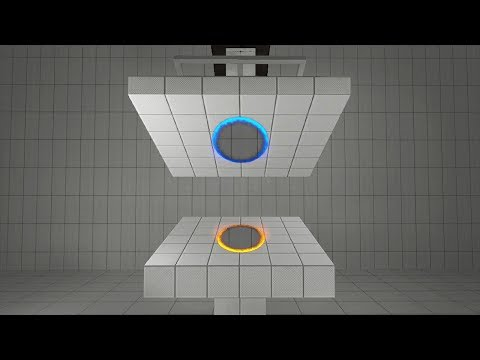 This is what happens when you get crushed between 2 portals. (Portal - 2007)