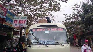 preview picture of video 'Dien Bien  - Son La Bus Xe Khách Điện Biên  - Sơn La'