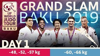Judo Grand-Slam Baku 2019: Day 1