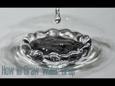How to Draw Water Drops -Step by Step