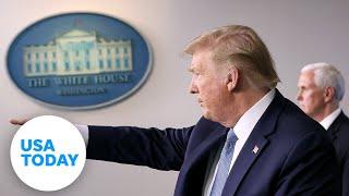 President Trump and Coronavirus Task Force give updates on coronavirus pandemic (LIVE) | USA TODAY