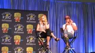 Eliza Taylor and Bob Morley 1
