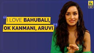 Shraddha Kapoor Interview With Vishal Menon   Face 2 Face   Saaho