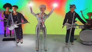SHINING LIGHT Annie Lennox Stop Motion Animation Tonner Doll