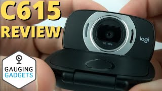 Logitech C615 HD Webcam Review and Setup - 1080p Camera for Zoom, Skype, Hangouts, and More