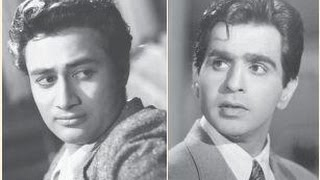 Dilip Kumar and Dev Anand Together