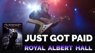 "Joe Bonamassa Official - ""Just Got Paid"" from 'Live at the Royal Albert Hall 2009'"