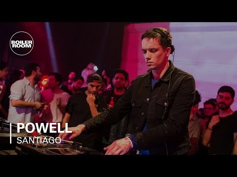 Powell lopsided techno Mix | Boiler Room BUDx Santiago