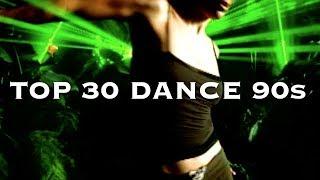 """Les 30 meilleurs tubes """"Dance"""" des années 90"""