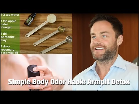Body Odor Hack: Armpit Detox – Saturday Strategy
