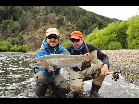 Un dia de pesca en la Patagonia