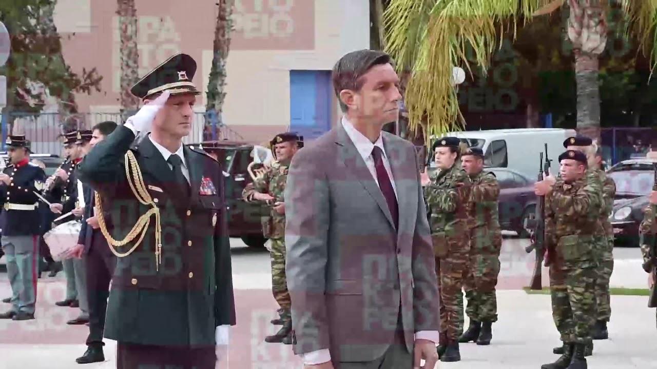 Επίσημη επίσκεψη του Προέδρου της Σλοβενίας Borut Pahor στο Ναύπλιο