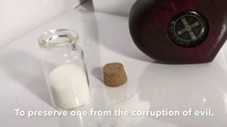 Blessed Salt Benedictine Heart Pod