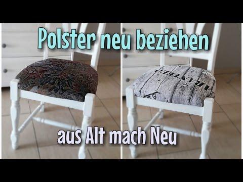 Alte Polster neu beziehen - Ganz einfach - Tackern - Nähtinchen