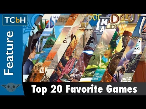 The Cardboard Herald's Top 20 Games in Under 20 Minutes
