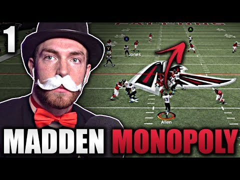 Madden Monopoly Season Opener [MUTOPOLY Ep 1] -- Madden 20 Ultimate Team Gameplay